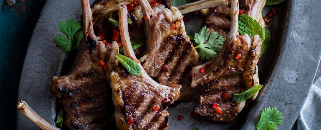 spicy lamb cutlets