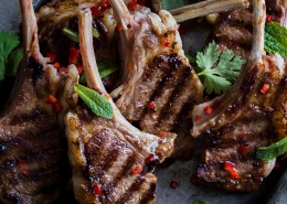 spicy lamb cutlets